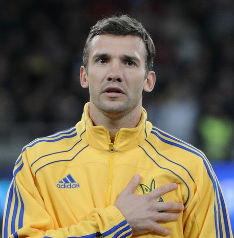 Andriy Shevchenko Height and Weight