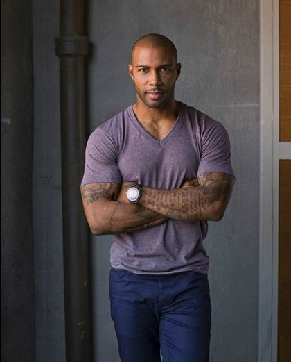 Omari Hardwick Height and Weight