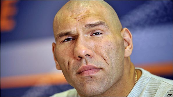 Nikolai Valuev Height and Weight