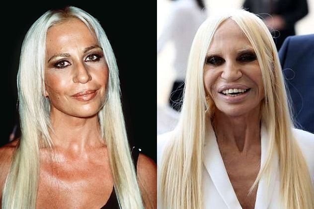 Donatella Versace Height and Weight