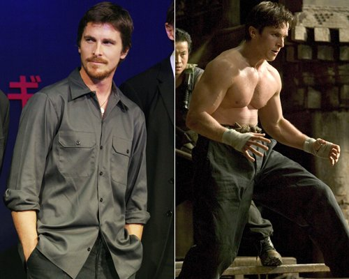 Christian Bale Gained Weight for the Role
