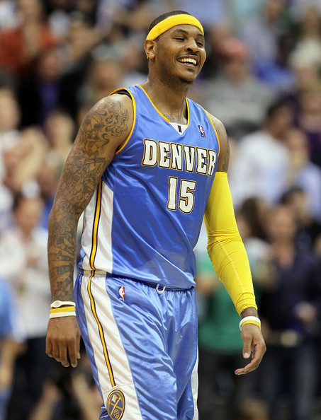 Carmelo Anthony Height and Weight