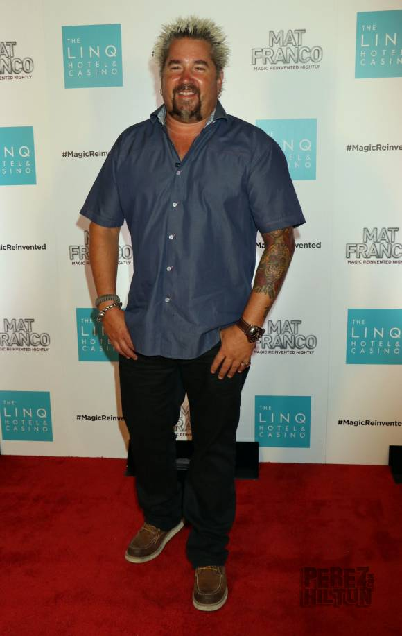 Guy Fieri Height and Weight