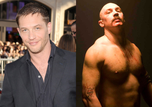 Tom Hardy Body Changes