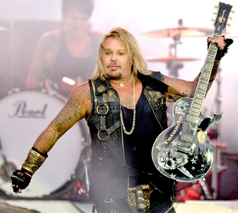 Vince Neil (Mötley Crüe) Height and Weight