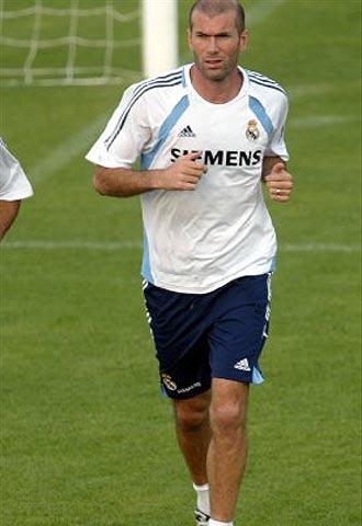 Zinedine Zidane Height and Weight