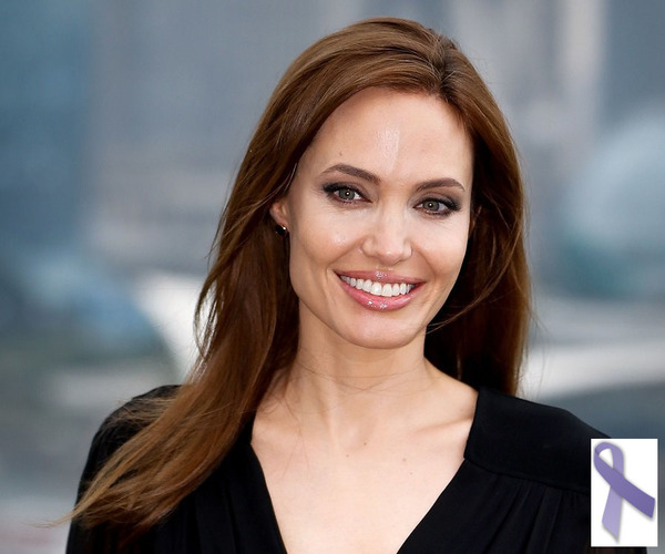 Angelina Jolie and other cancer survivors