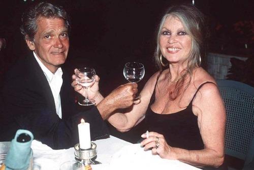 Brigitte Bardot and Bernard d'Omale