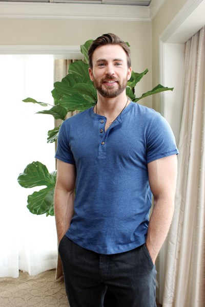 Chris Evans as most desirable bachelor