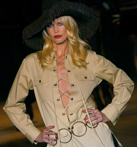 Claudia Schiffer Style