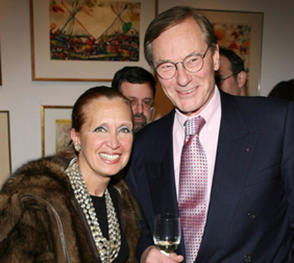 Danielle Steel and her ex-husband Tom Perkins