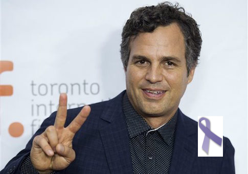 Mark Ruffalo survived brain tumor