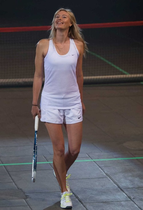 Maria Sharapova Height and Weight