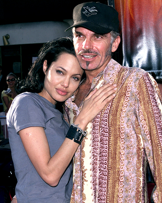 Billy Bob Thornton with his fourth wife Angelina Jolie