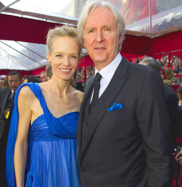 James Cameron and his fifth wife Suzy Amis