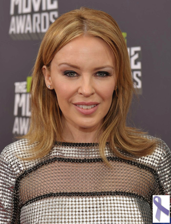 Kylie Minogue and other celebs with cancer experience