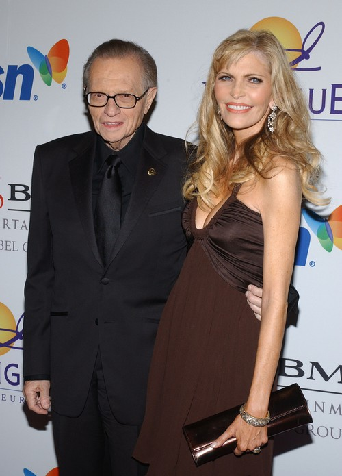 Larry King with his eighth wife Shawn Southwick