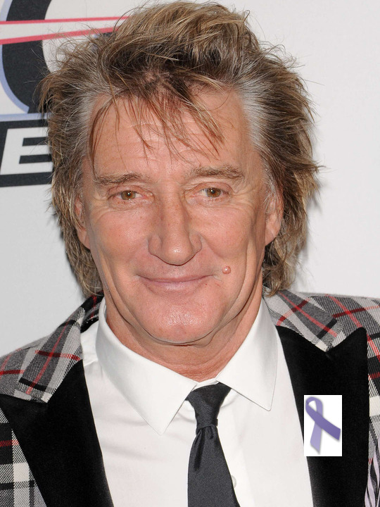 Rod Stewart battled cancer