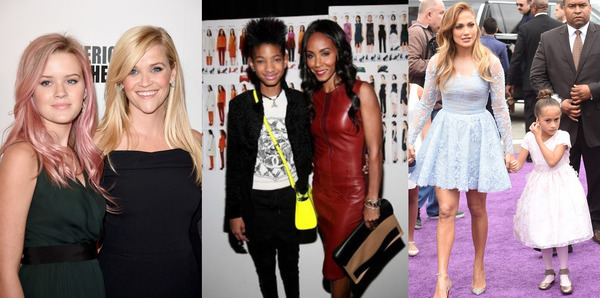 Ten Most Stylish Celeb's Daughters. Like Mother, Like Daughter!