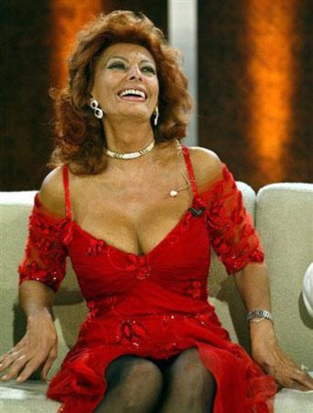 Sophia Loren Height and Weight