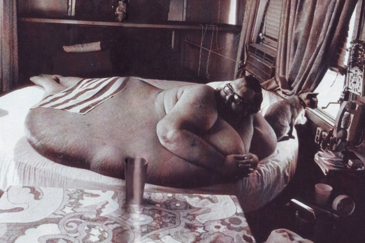 Francis John Lang weighed 1,187lb (538 kg)