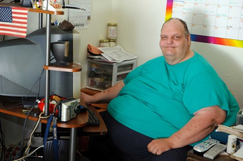 Patrick Deuel weighed 1,072lb (489 kg)