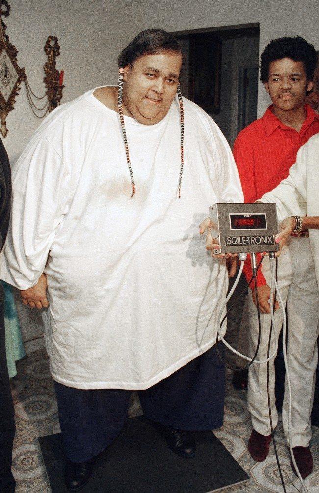 Walter Hudson weighed 1,197lb (543 kg)