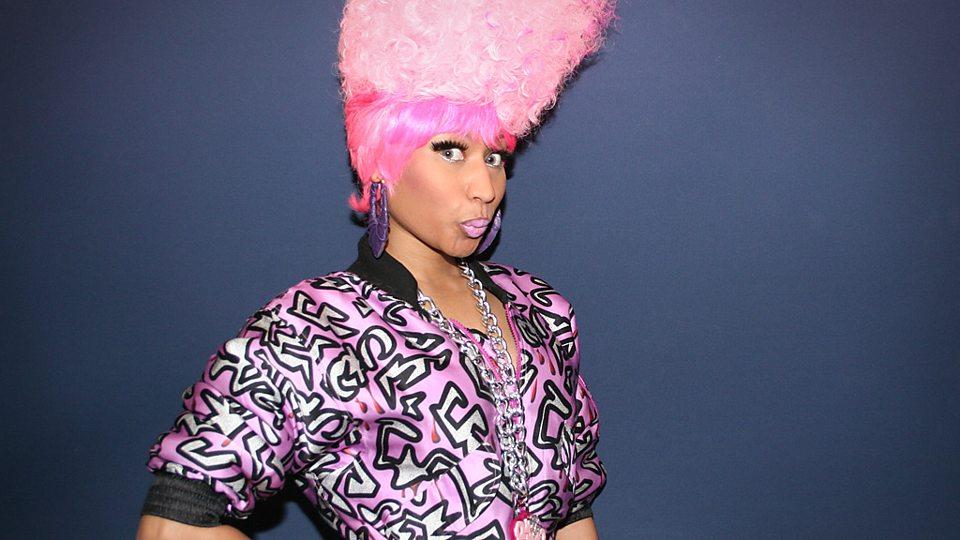 Nicki's amazing pink wigs
