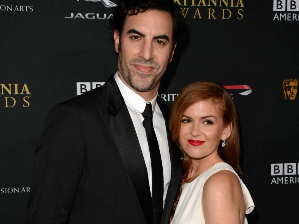 Isla Fisher's husband is Sacha Baron Cohen