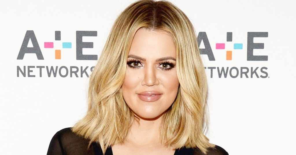 Khloe Kardashian's body measurements are 35-28-41 in / 89-71-104 cm