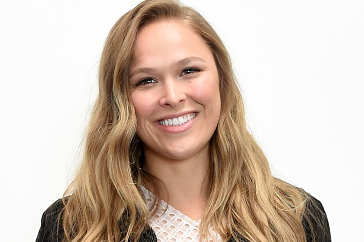 Ronda Rousey is Blonde