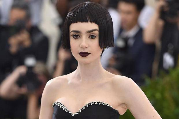 Lily Collins' Zodiac sign is Pisces