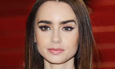 "Lily Collins is 5'5""/165 cm and she weighs 112.5 lbs/51 kg"