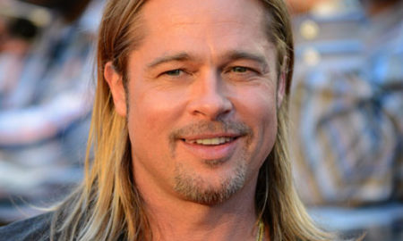 "Brad Pitt is 5'11""/180 cm and he weighs 172 lbs /78 kg"