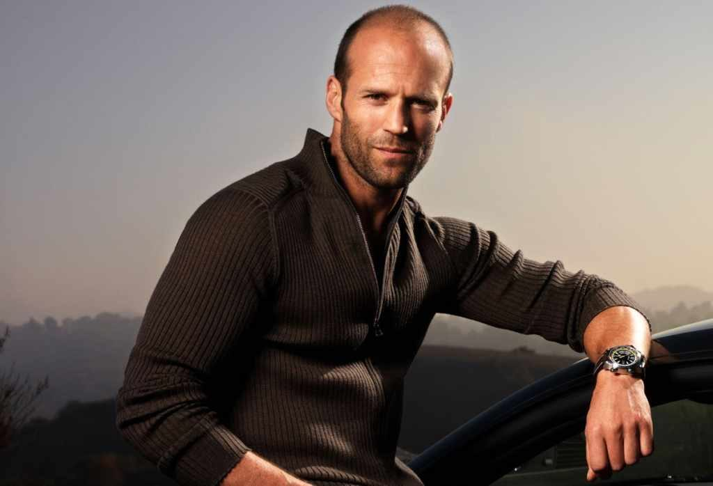 Jason Statham's body measurements are 48-34-18 in / 122-87-46 cm
