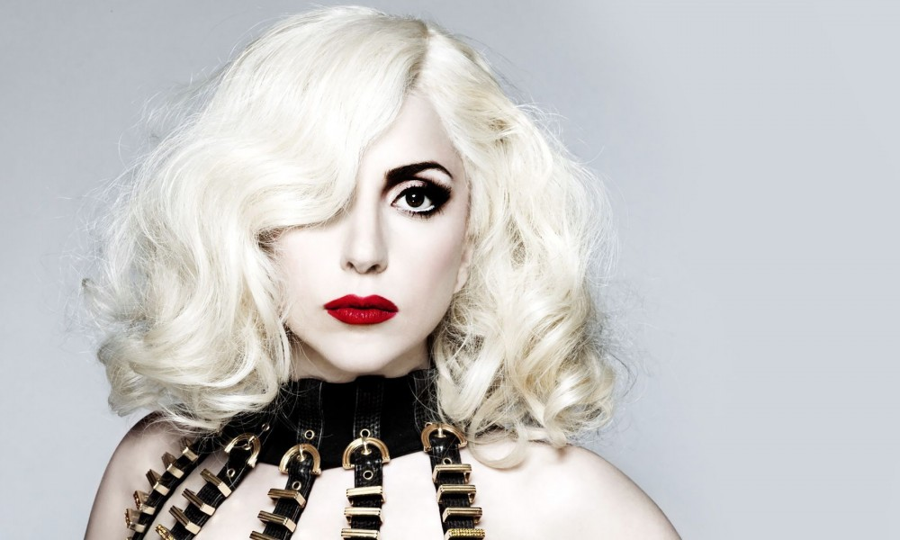 Lady Gaga has naturally brown hair but she likes to dye it blonde