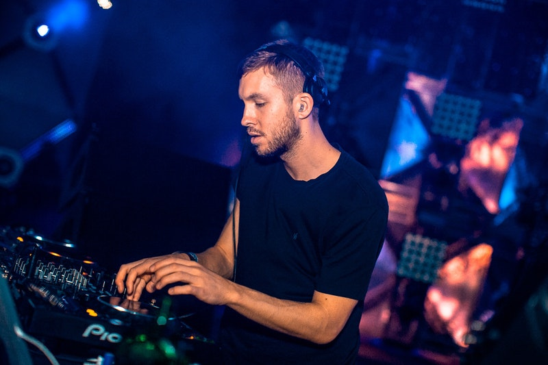 Calvin Harris' shoe size is 13/ 46 (EU)
