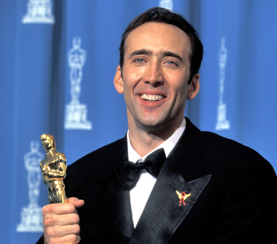 Nicolas Cage and his Oscar