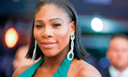 "Serena Williams is 5'9"" in/175 cm tall and she weighs 172 lbs/78 kg"