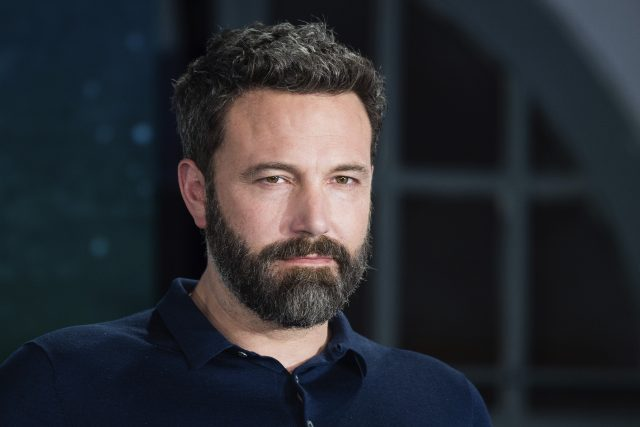 Ben Affleck's hair color is dark brown