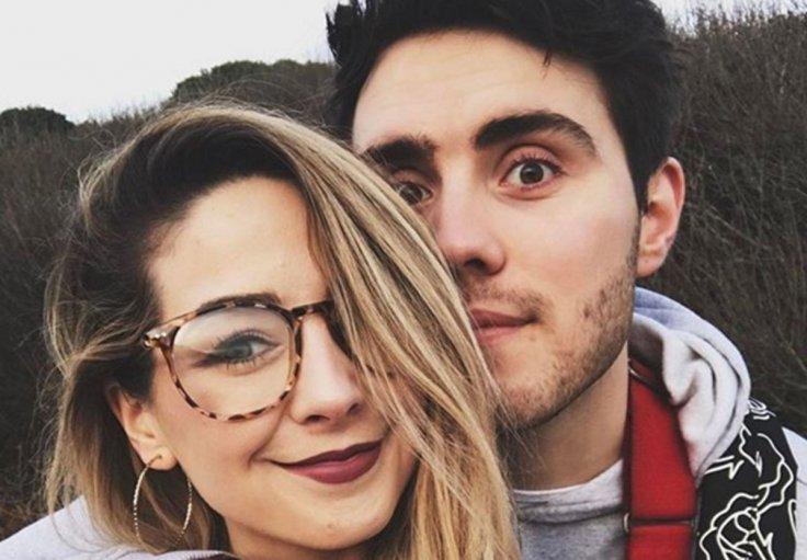 Zoella with her boyfriend Alfie Deyes, a Youtuber