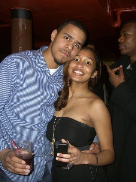 J Cole is married to Melissa Heholt