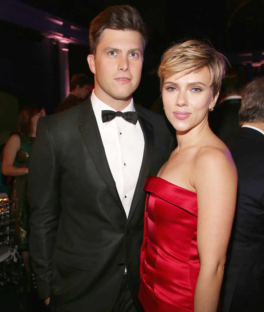 They say Scarlett has finally found her soul mate. Turns out it is Colin Jost, an American comedian, and actor.