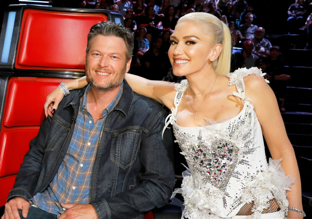 Blake Shelton is in love with Gwen Stefani