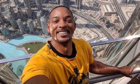 "Will Smith is 6'2""/188 cm tall and he weighs 181 lbs/82 kg"