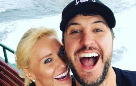 Luke Bryan with his wife Caroline Boyer (Bryan)