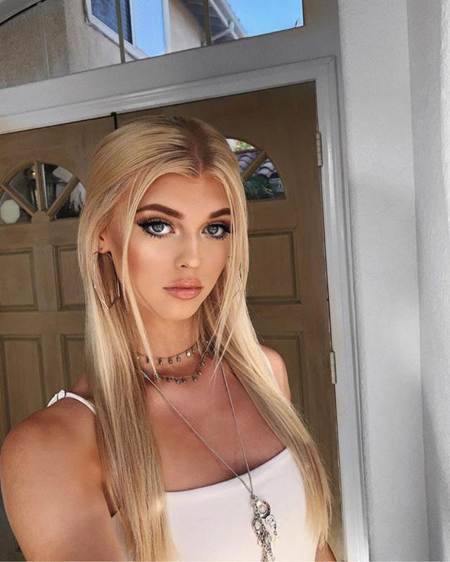 Loren Gray's hair color is blonde