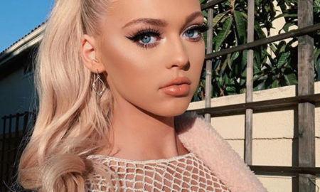 """Loren Gray is 5'8.5""""/174 cm tall and she weighs 128 lbs /58 kg"""