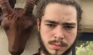 "Post Malone is 6'0½""184 cm tall and he weighs 185 lbs/84 kg"